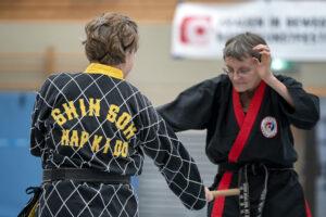 Frauenkampkunstfestival - Hapkido - Foto © Susanne Beck