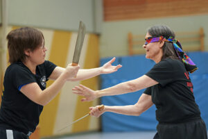 Frauenkampkunstfestival - Schwerter - Foto © Susanne Beck